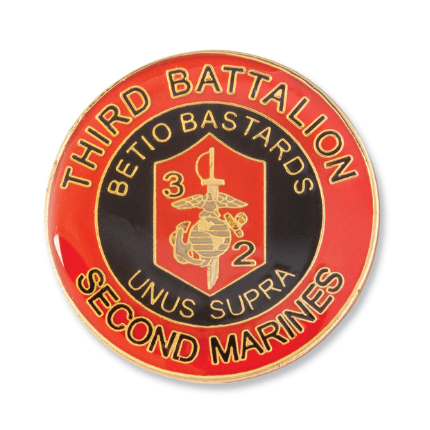 3rd Battalion 2nd Marines Pin