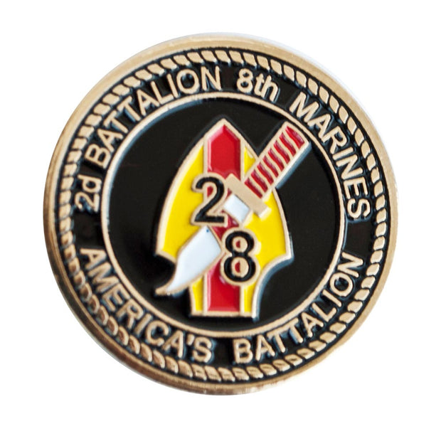 2nd Battalion 8th Marines Pin