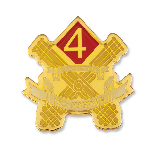 1st Battalion 14th Marines Pin