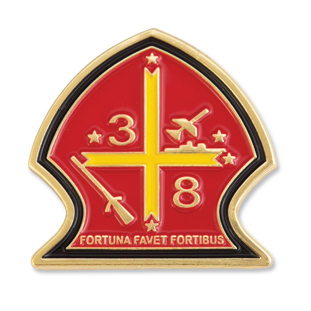 3rd Bn 8th Marines Lapel Pin