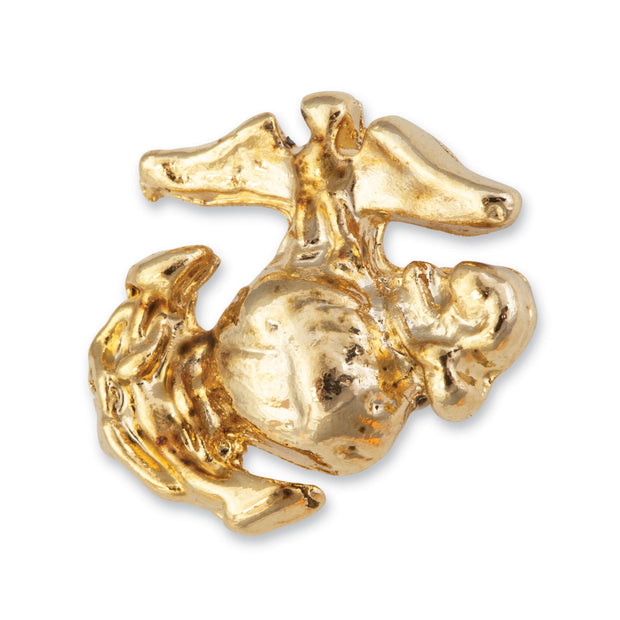 Small Eagle Globe and Anchor Lapel Pin
