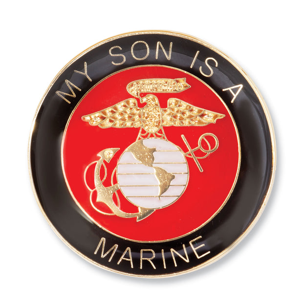 My Son Is A Marine Pin