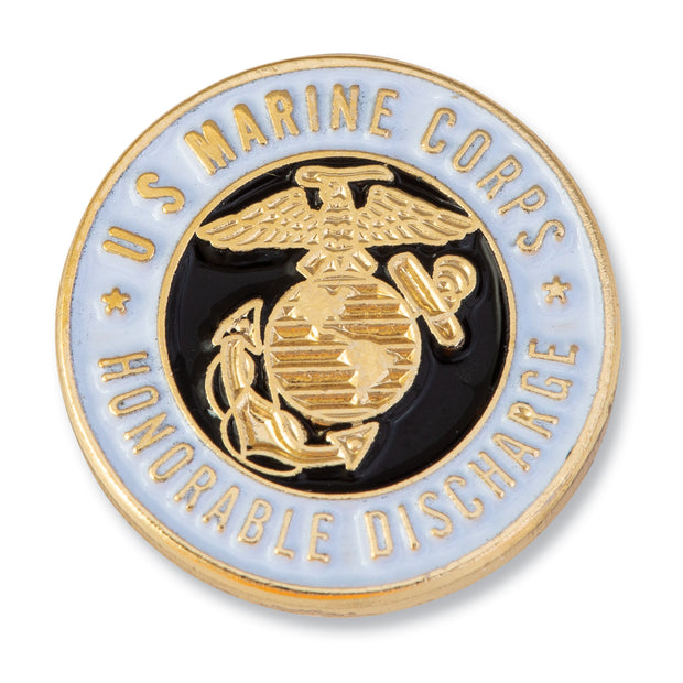 Honorable Discharge Lapel Pin