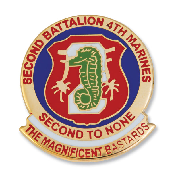 2nd Battalion 4th Marines Pin