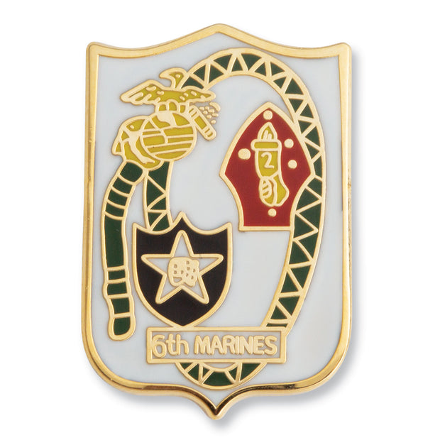 6th Marine Regiment Pin