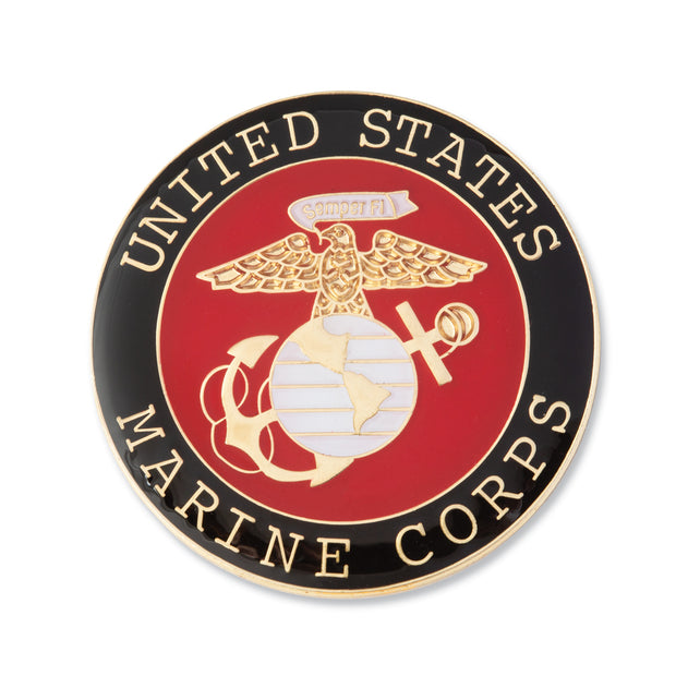 Large USMC Seal Pin