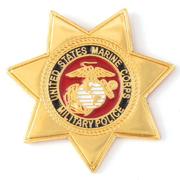 Military Police Star Badge Pin