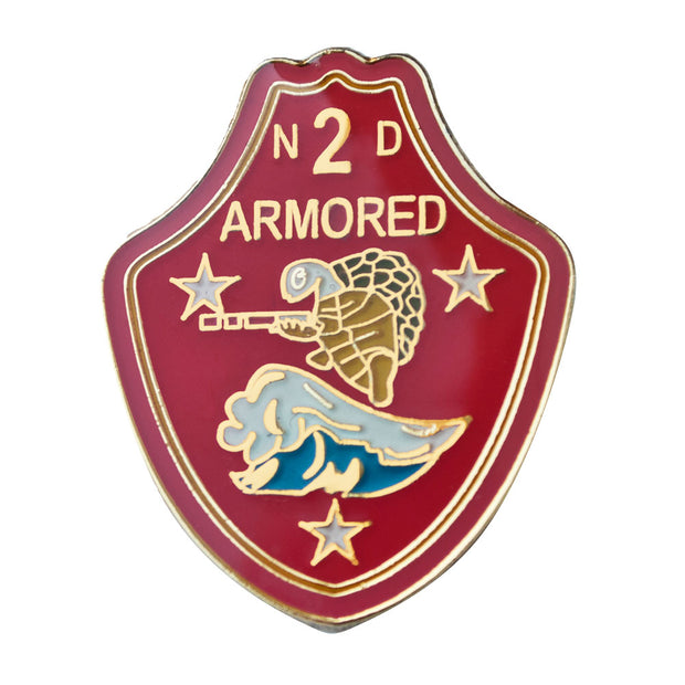 2nd Armored Battalion Pin