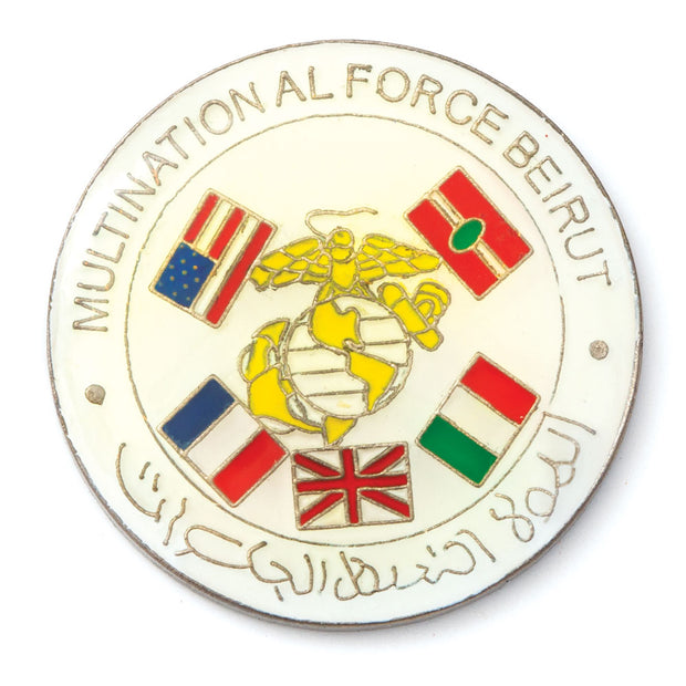 Multinational Force Beirut Pin