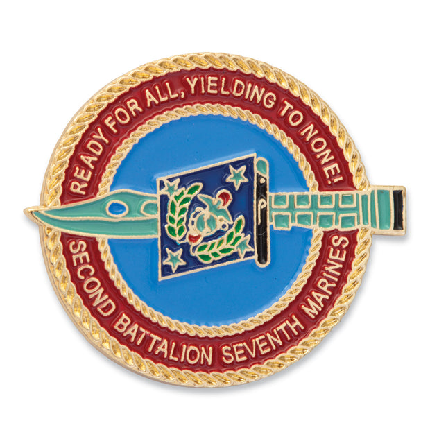 2nd Battalion 7th Marines Pin