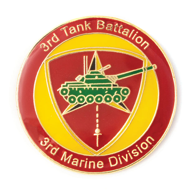 3rd Tank Battalion Pin