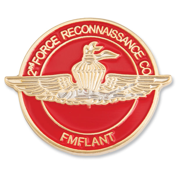 2nd Force Recon Company Pin
