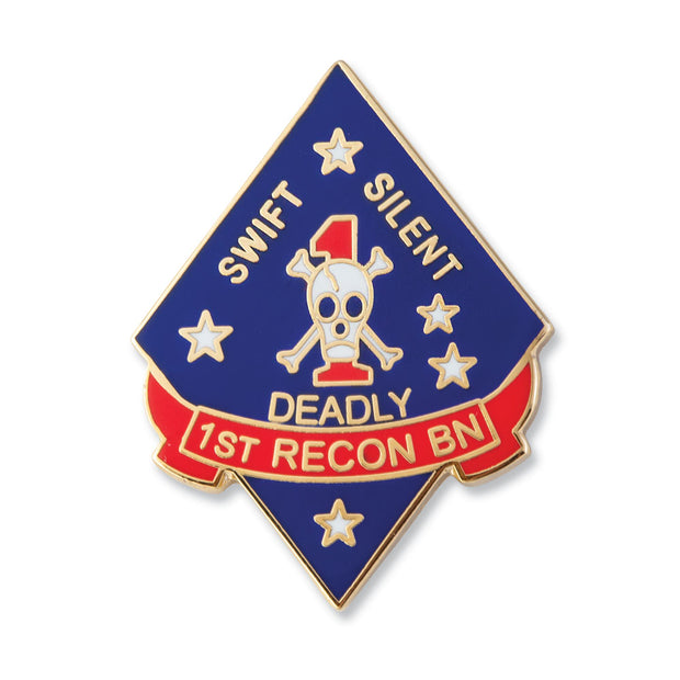 1st Recon Battalion Pin