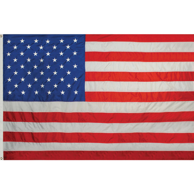 5' x 8' Nylon Embroidered American Flag