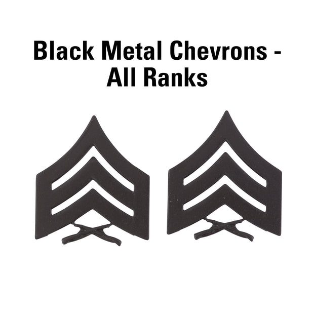 Black Metal Chevrons