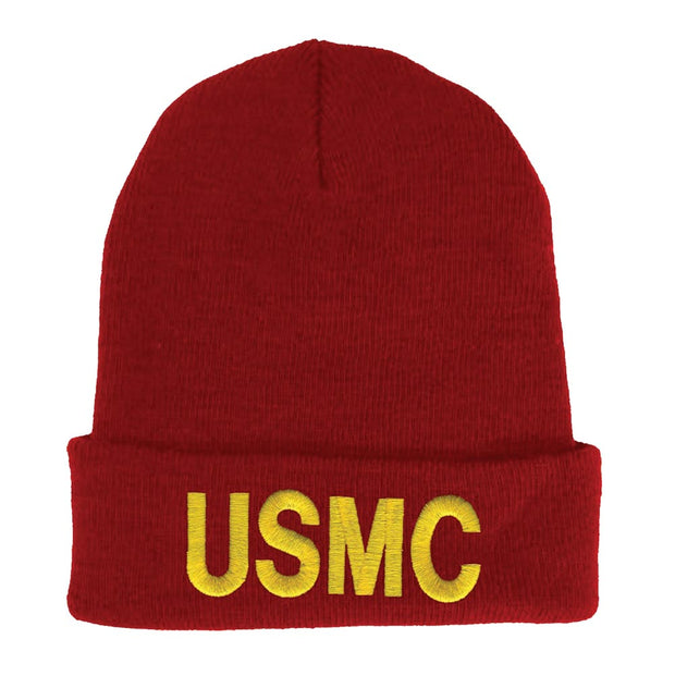 Red USMC Watch Cap