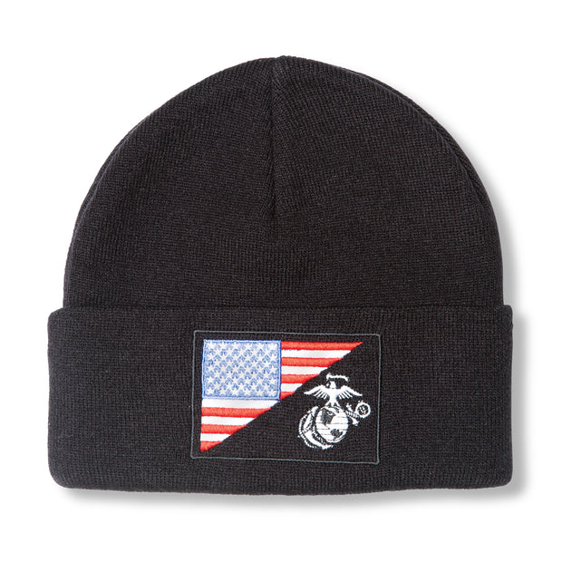 EGA/Flag Patch Beanie
