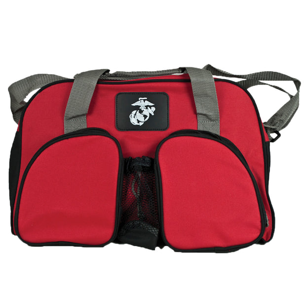 Red Eagle Globe and Anchor Weekend Duffel