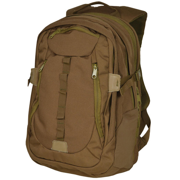 Coyote Ambush Tactical Backpack with Concealment