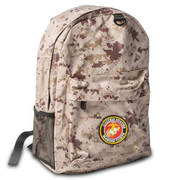 Child's Camo Backpack