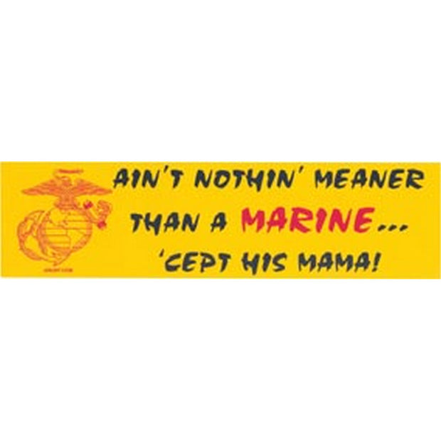 Ain't Nothin Meaner Than A Marine Cept His Mama