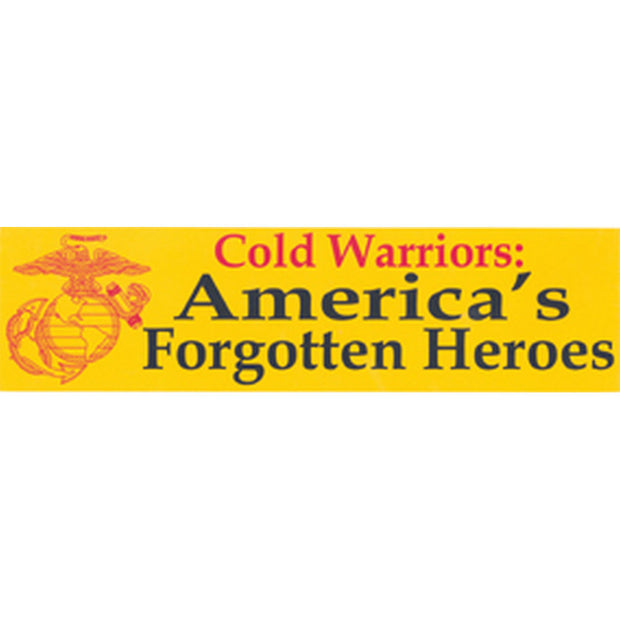 Cold Warriors Bumper Sticker