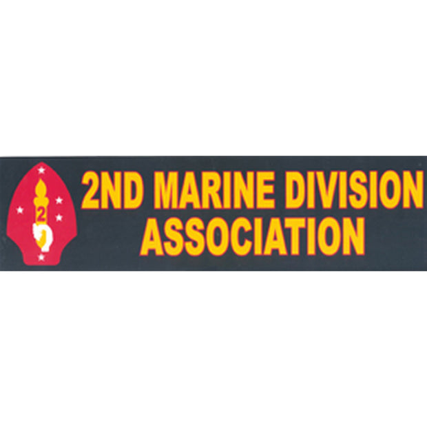 2nd Marine Division Association Bumper Sticker