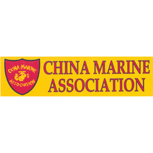 China Marine Association Bumper Sticker