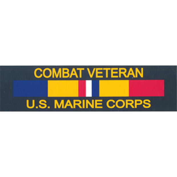 Combat Veteran Bumper Sticker