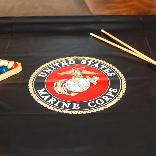 U.S. Marines Billiard Table Cover