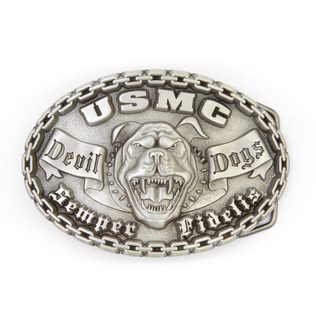 Devil Dog Belt Buckle