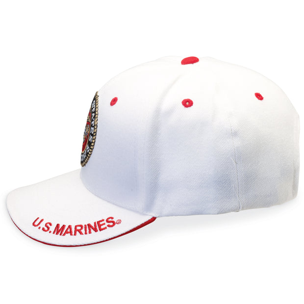 Marines White Logo Cover