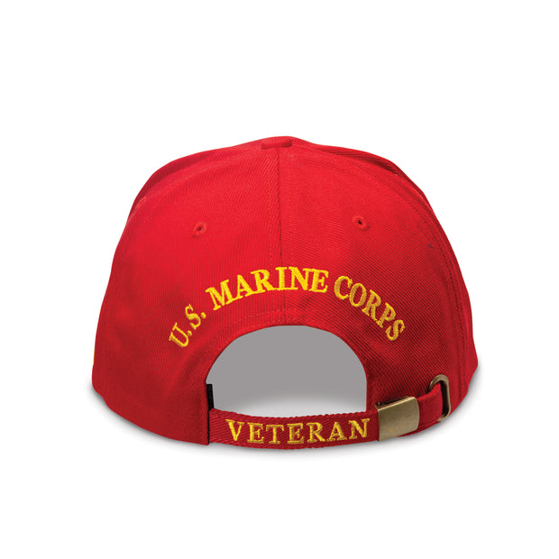 USMC Veteran Red Cover