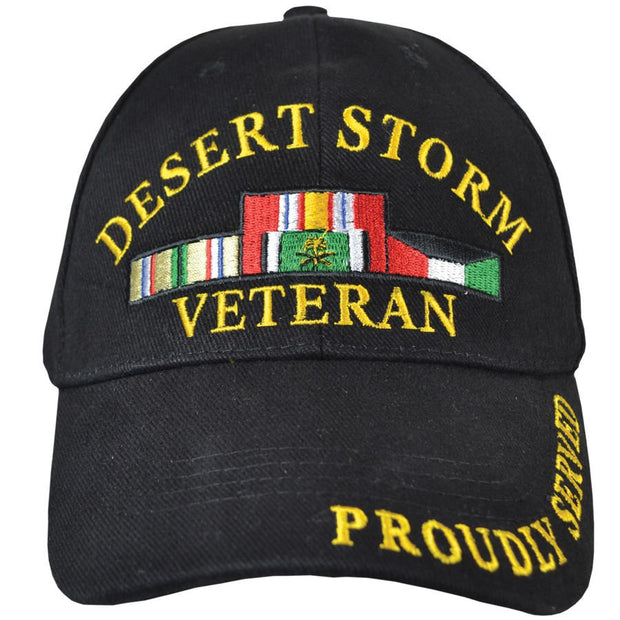 Proudly Served Desert Storm Veteran Cover/Hat
