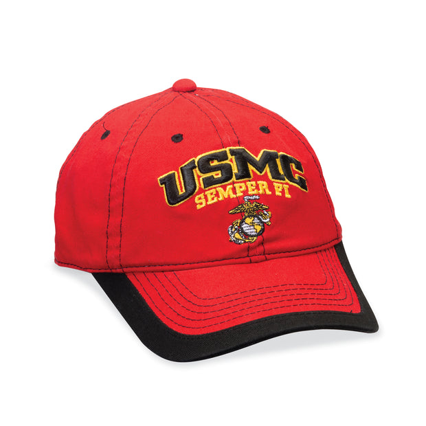 USMC Semper Fi Red/Black Cover