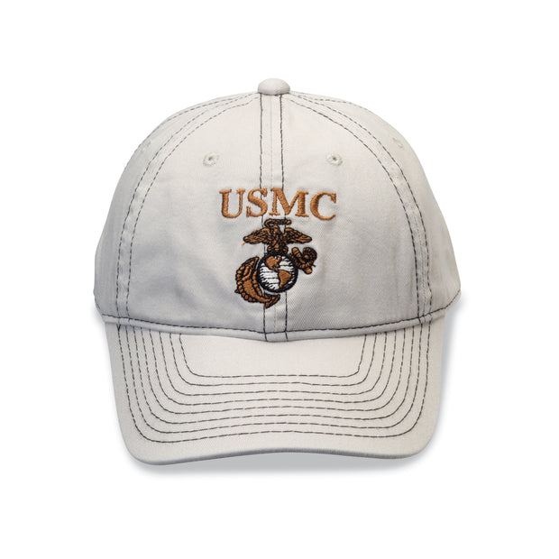 USMC Eagle, Globe and Anchor Khaki Cover