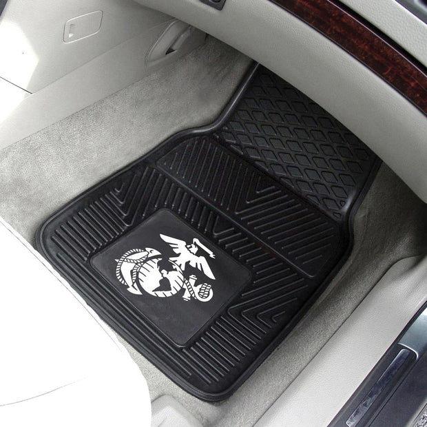 Heavy Duty Eagle, Globe & Anchor 2-Pc Front Mats