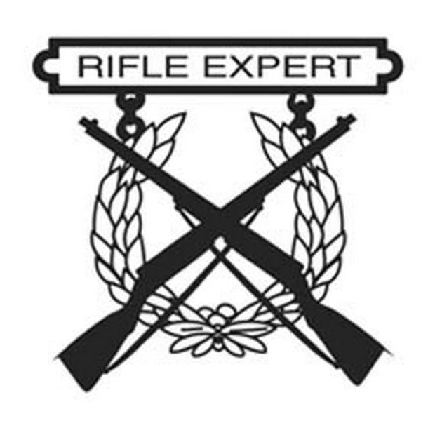 Rifle Expert 3 Decal