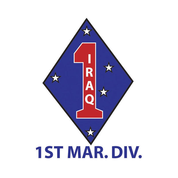 1st Marine Division-Iraq Decal