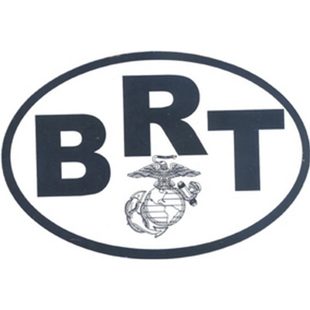 "BRT Country 4 1/2"" x 3"" Decal"