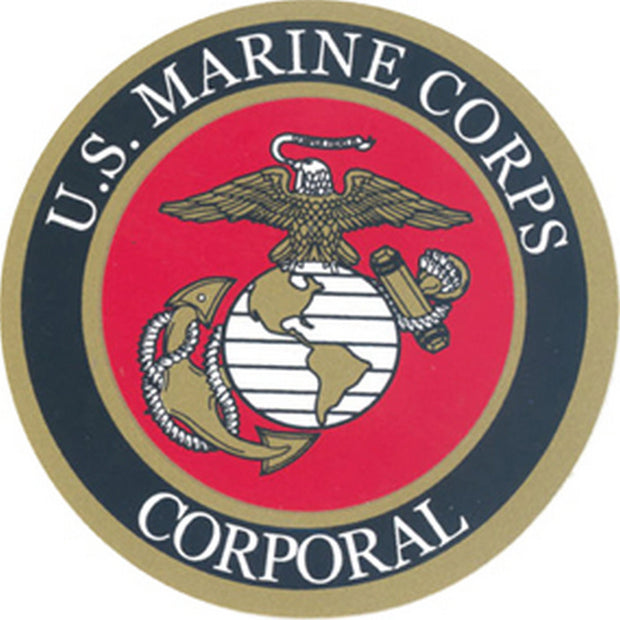 "Corporal 3"" Decal"