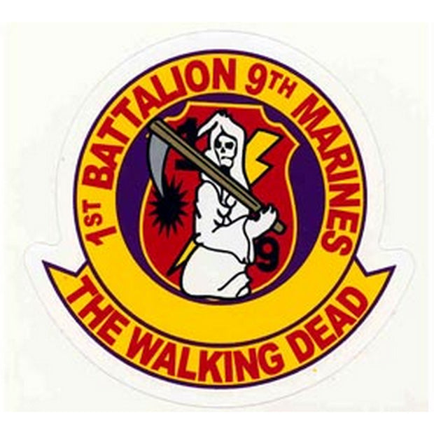 1st Battalion 9th Marines Decal