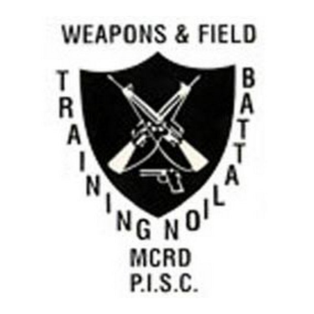 "Weapons and Field Training Battalion 3 1/2"" x 4 1/2"" Decal"
