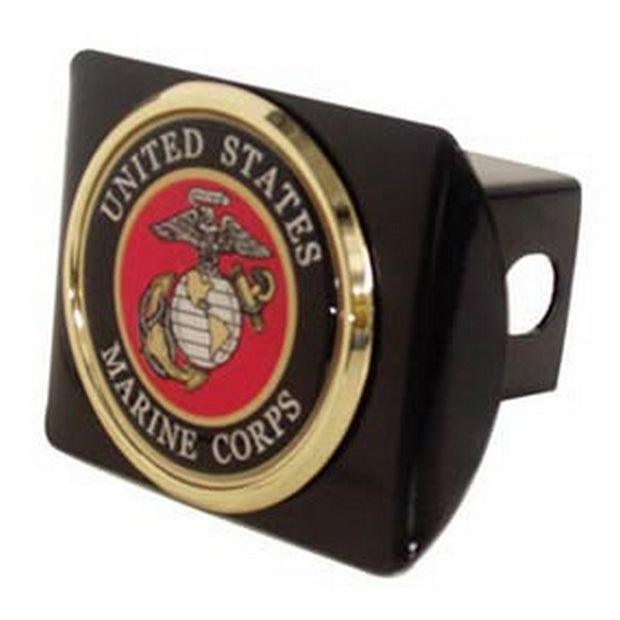 Marine Black Chrome Hitch Cover