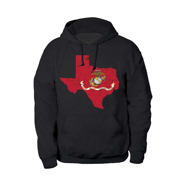 USMC Flag Choose Your State Hoodie