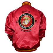Red and Gold US Marines Jacket