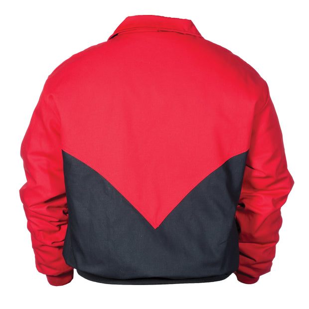 Deep V Canvas Jacket