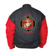 Black & Red EGA Canvas Jacket