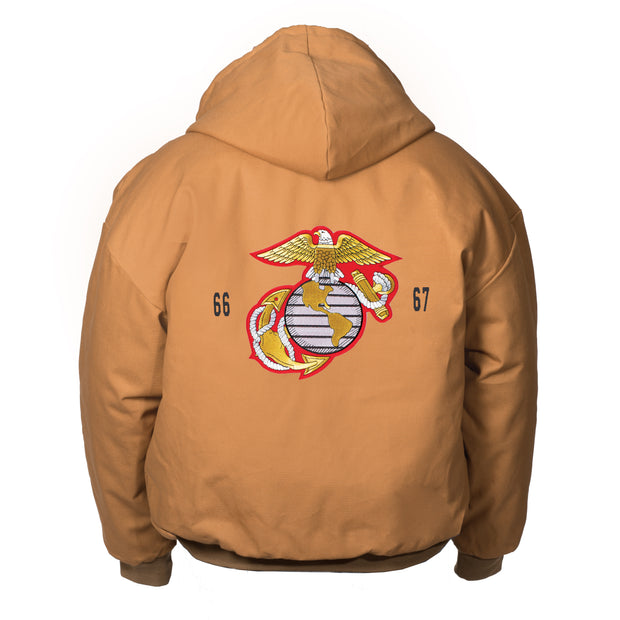 EGA Canvas Hooded Jacket