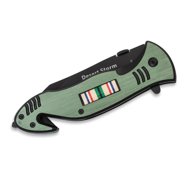 Desert Storm Ribbon Knife